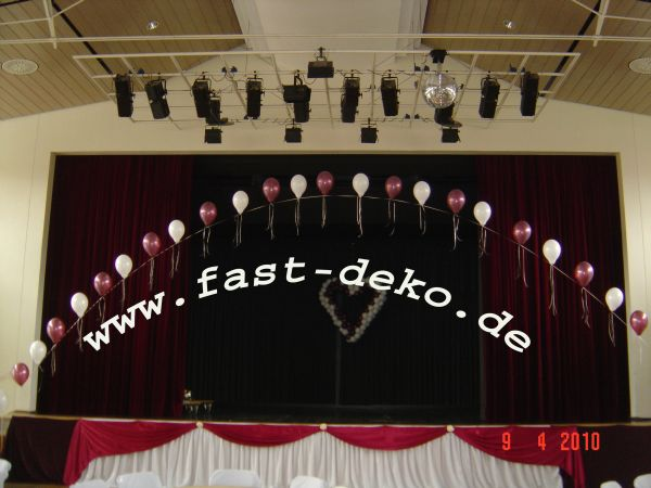 luftballons mit helium hochzeitsdekoration in nrw. Black Bedroom Furniture Sets. Home Design Ideas